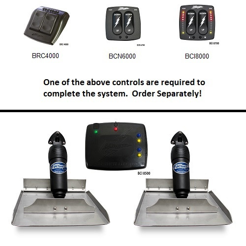 Bennett Bolt2412 Electric Trim Tabs 24x12 Require Control