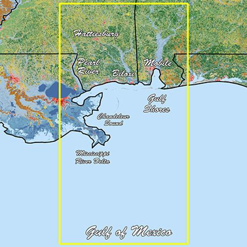 Garmin Mississippi Sound Standard Mapping Professional