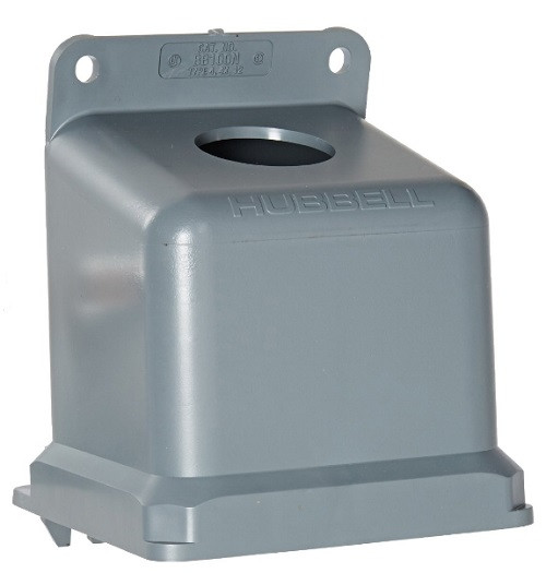 Hubbell Bb100n 15 Degree Non-metallic Back Box For 100a