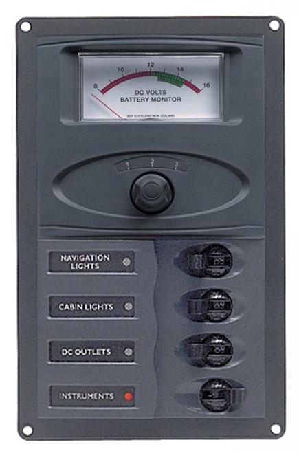 Bep 900-am 4 Way Dc Circuit Breaker Panel
