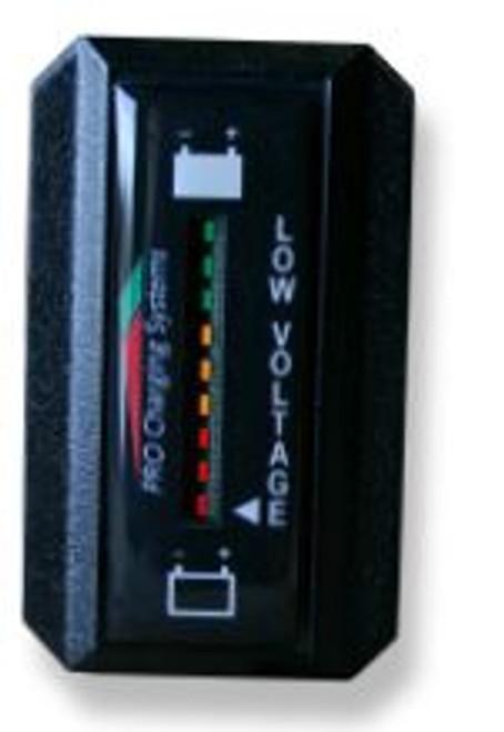 Pro Charging Eagle Performance Battery Fuel Gauge 48v Rectangle Horizontal