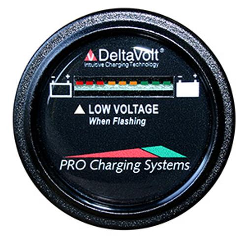 Pro Charging Eagle Performance Battery Fuel Gauge 48v Round
