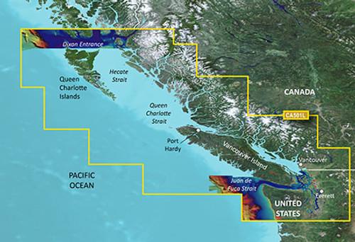 Garmin Vca501l G3 Vision Vancouver To Dixon Entrance