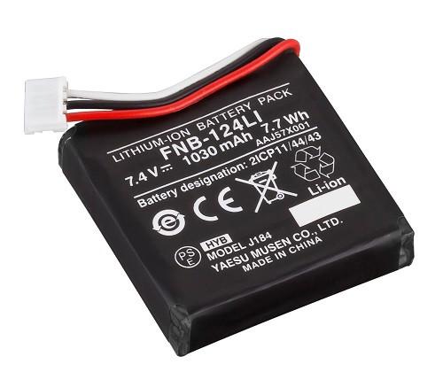 Standard Fnb-124li Battery 1030mah For Hx150