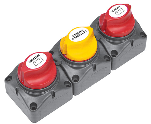 Bep Battery Distribution Cluster Single Engine 2 Dedicated Banks