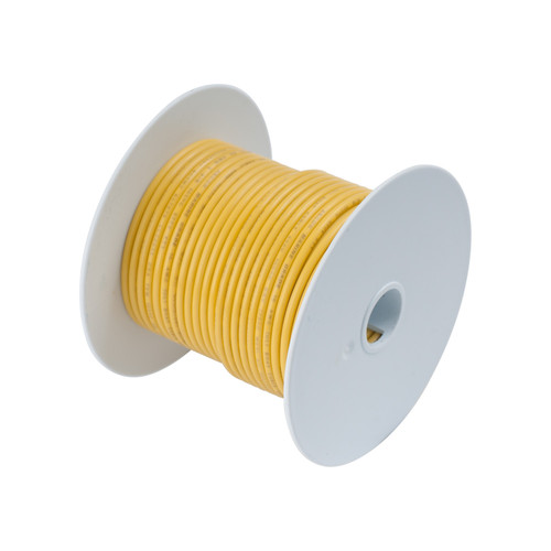 Ancor #18 Yellow 100' Spool Tinned Copper
