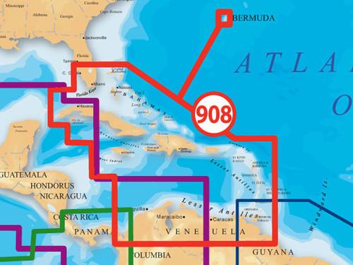 Navionics Msd/908p-2 Platinum Caribbean