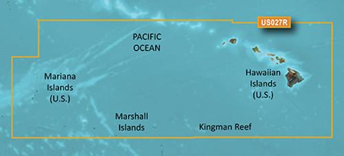 Garmin Hxus027r G3 Micro Sd Hawaiin And Mariana Islands