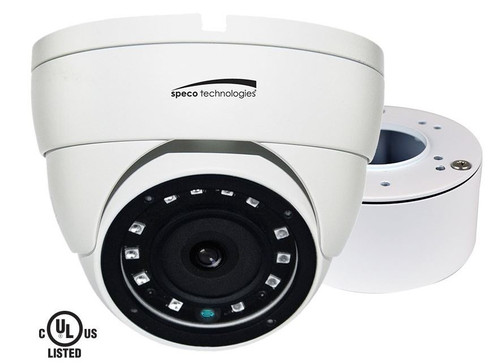 Speco Vldt4w Dome Camera 18 Led Ir 3.6mm Lens