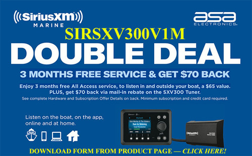 Sirius Sxv300v1m Receiver Requires Antenna