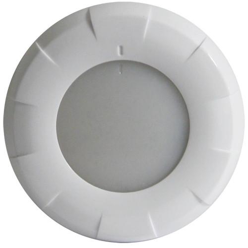 Lumitec Aurora Dome Light White Led Light White Finish 12/24v
