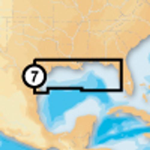 Navionics Msd/907p+ Platinum + Gulf Of Mexico Msd Card