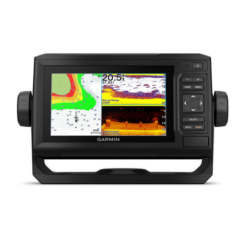 Garmin Echomap 63cv Uhd Combo Us Lakevu G3 With Gt24 Transducer