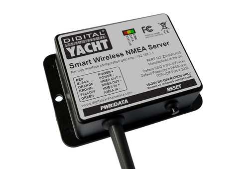 Digital Yacht Wln10sm Smart Nmea-wifi Adapter 4800/38400 Baud