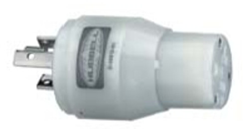 Hubbell Hbl31cm29 Adapter 15a Female To 30a Male