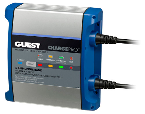 Guest 2708a 5a 1 Bank 120v Input Battery Charger