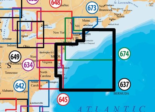 Navionics Msd637 Platinum Plus New Jersey - Delaware