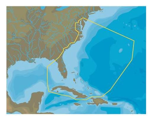 C-map Na-y063 Max N+ Microsd Chesaoeake Bay To Cuba