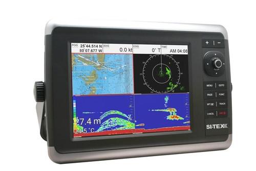 "Sitex Navstar 10 10"""" Combo Chart Plotter Fishfinder"