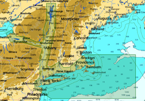 C-map M-na-d940 4d Local Cape Cod Long Island Hudson