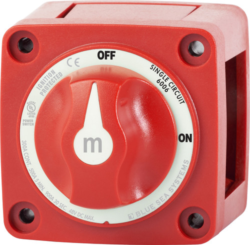 Blue Sea M-series Battery Switch On/off With Knob