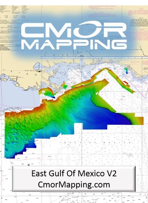 Cmor Mapping Egom002r East Gulf Of Mexico Raymarine