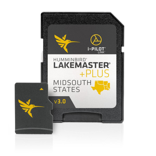 Humminbird Hcmidsp2 Lakemaster Plus Midsouth States Microsd