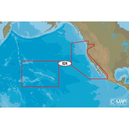 C-map M-na-d024 4d Microsd Usa West Coast And Hawaii