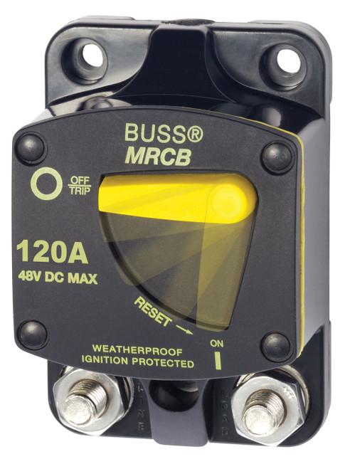 Blue Sea 187-series 120 Amp Circuit Breaker Surface Mount