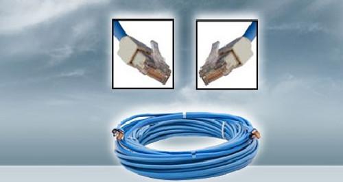 Furuno 001-167-890-1 Lan Cable Assembly 5m Rj45-rj45 4p