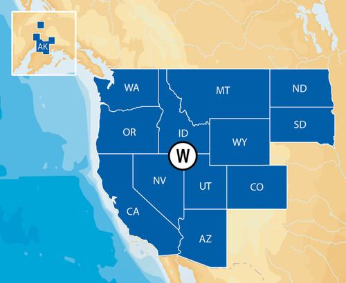 Navionics Msd/hmpt-w6 Hotmaps Platinum West
