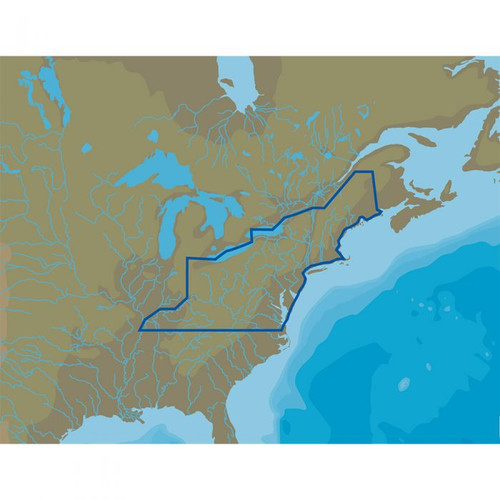 C-map M-na-d073 4d Microsd Us Lakes North East