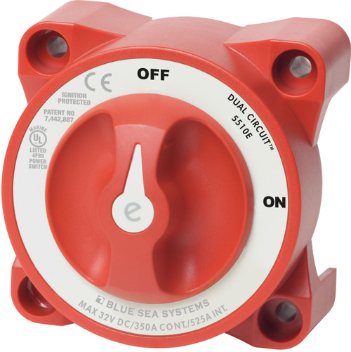 Blue Sea E-series Battery Switch On-off Dual Circuit