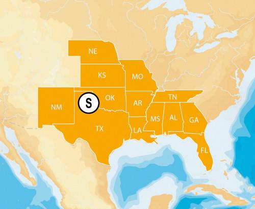 Navionics Msd/hmpt-s6 Hotmaps Platinum South