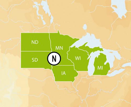 Navionics Msd/hmpt-n6 Hotmaps Platinum North