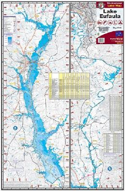 Kingfisher Lake Map WF George/Eufaula