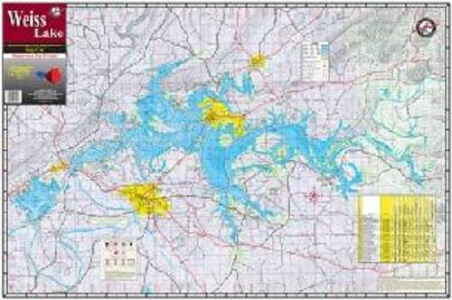 Kingfisher Lake Map Weiss
