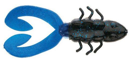 """Berkley Chigger Toad 4"""" Black Blue"""