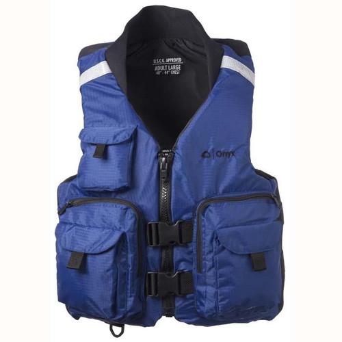Onyx Pro Caster Vest Navy Blue Medium