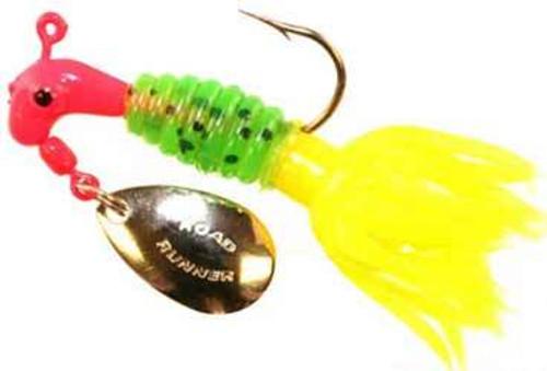 Blakemore Crappie Thunder 1/16 2ct Red/Watermelon/Yellow