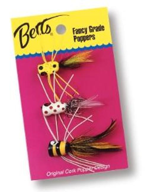 Betts Panfish Popper Value Pack Assortment 3pc