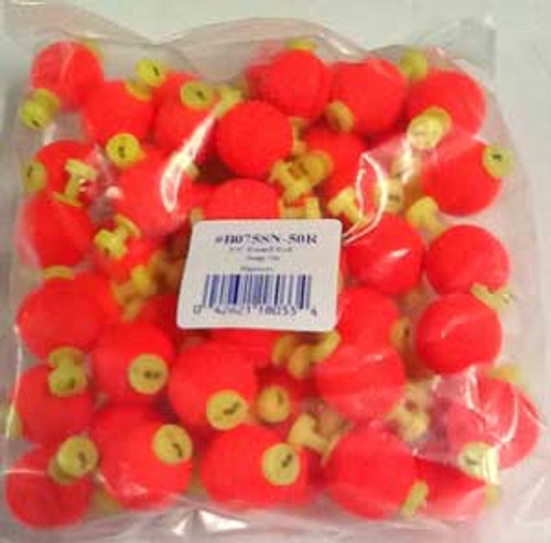 """Betts Snap On Unweighted Round 0.75"""" 50ct Red"""