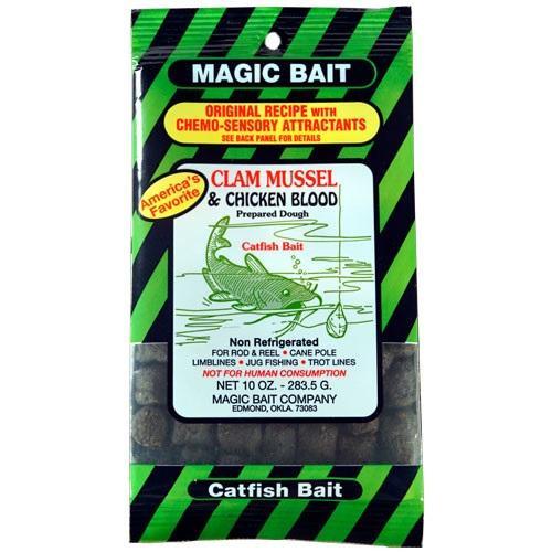 Magic Bait Clam Mussel/Chicken Blood Bait 10oz