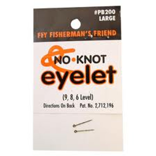 Kipper No-Knot Eyelets Large 24/Card