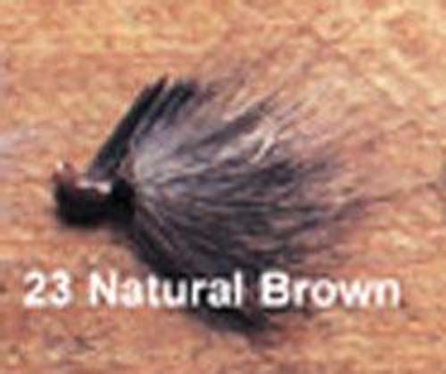Arkie 1/4 Bucktail 6/cd Natural Brown