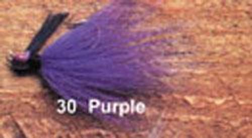 Arkie 1/4 Bucktail 6/cd Purple