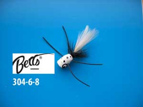 Betts Bee Pop White/Black/White Size 6