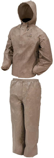 Frogg Toggs DriDucks Rainsuit/Khaki X-Large