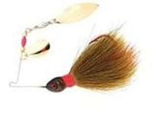 Booyah Wounded Bucktail Spinner 1/8 Yellow/Black