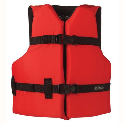 Onyx General Purpose Life Vest Youth Red